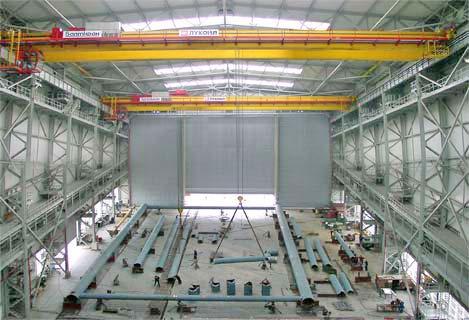 Краностроительная компания БАЛТКРАН производит контейнерные краны, козловые краны, мостовые краны, портальные краны...